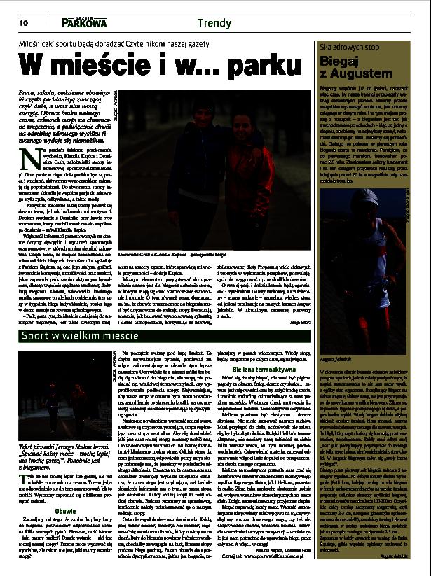 gazeta parkowa, park śląski, klaudia kapica, dominika grab