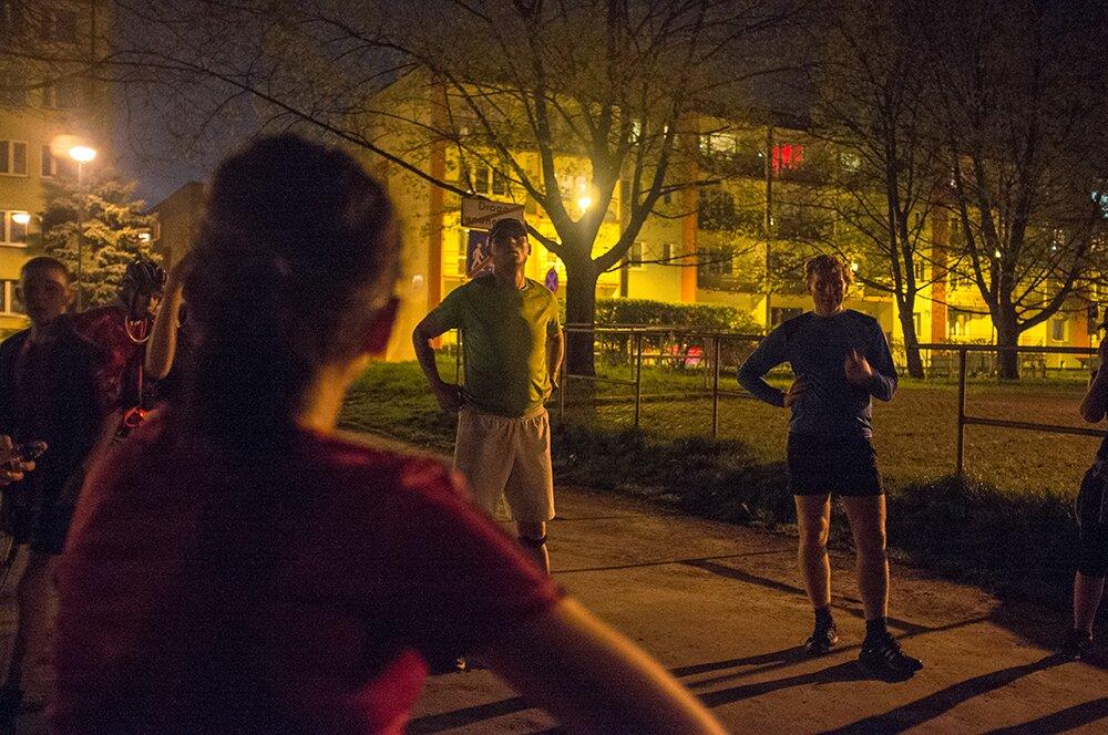 bieganie wieczorne