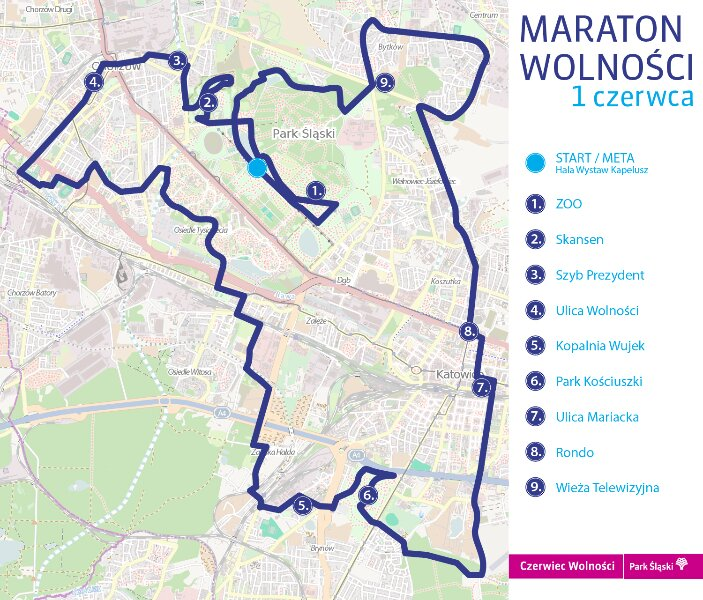 trasa maraton